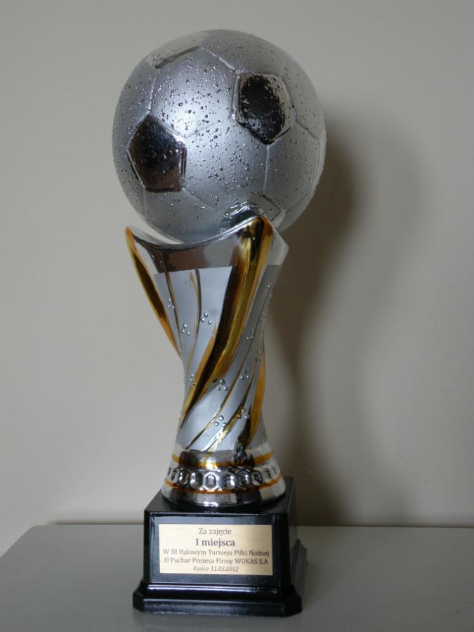 III Halowy Turniej Piłki Nożnej o Puchar Prezesa Firmy WOKAS S.A.