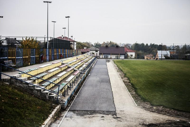 Prace na stadionie zostały wznowione