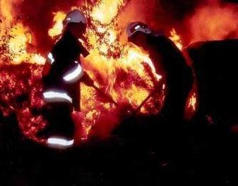 Dwa pożary