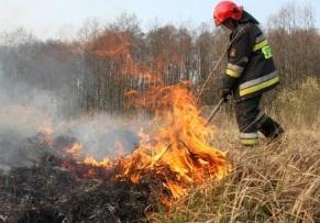 Palące się pastwiska i pożar kotłowni