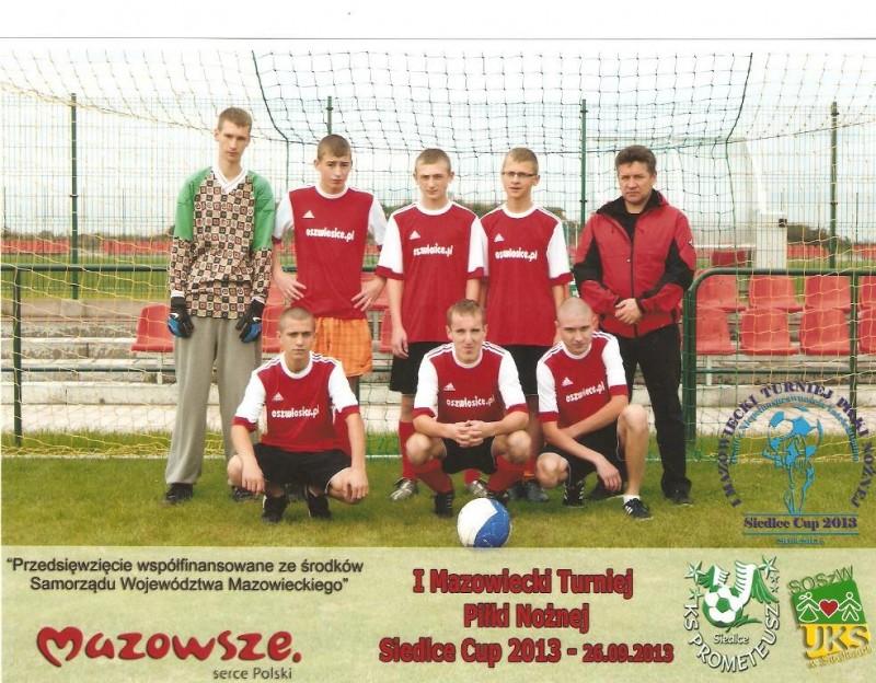 I Mazowiecki Turniej Piłki Nożnej Osób z Niepełnosprawnością Intelektualną – Siedlce Cup 2013