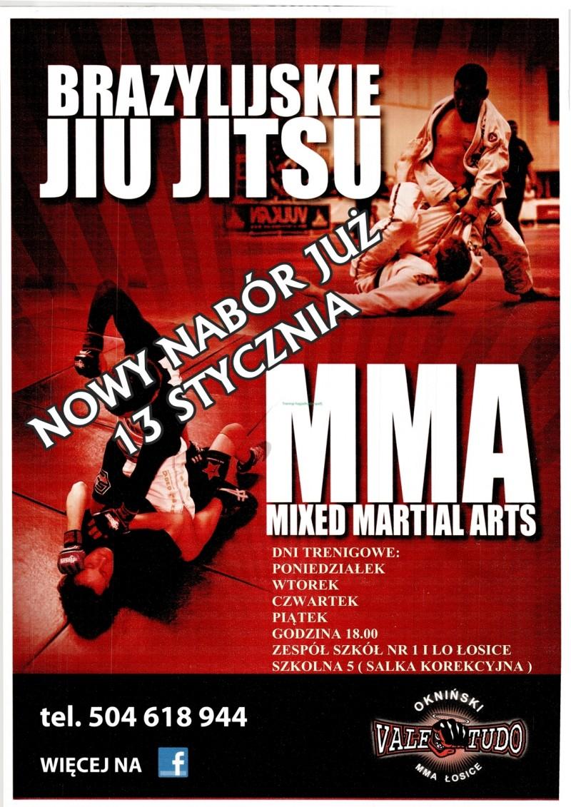 Nabór do sekcji MMA