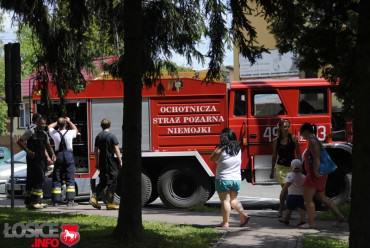 Alarm bombowy w Łosicach