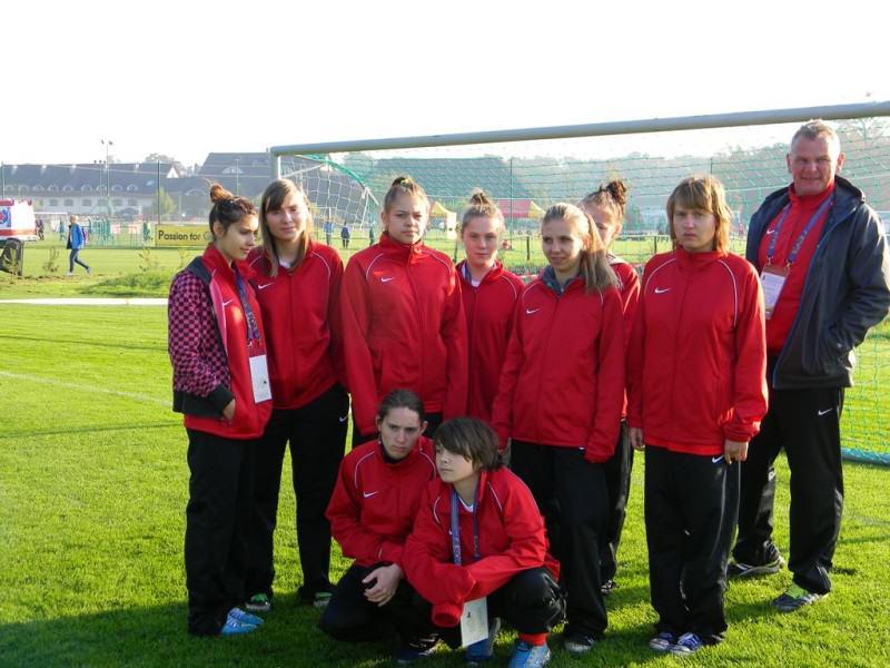 Mamy I-sze miejsce w XV Ogólnopolskim Turnieju Piłki Nożnej Drużyn Żeńskich 7-osobowych OLIMPIAD SPECJALNYCH.