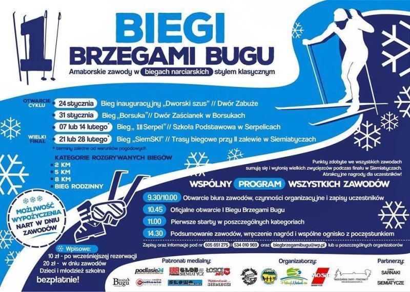BUG – rzeka która łączy a nie dzieli czyli I Biegi Brzegami Bugu