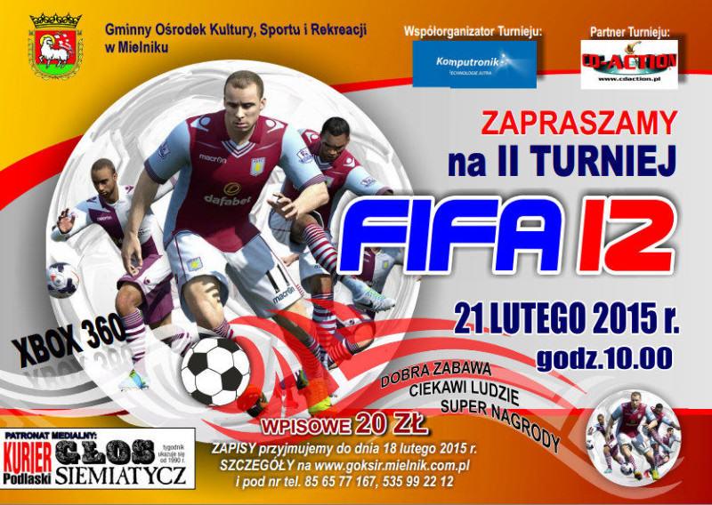 II Turniej FIFA 12 Xbox 360