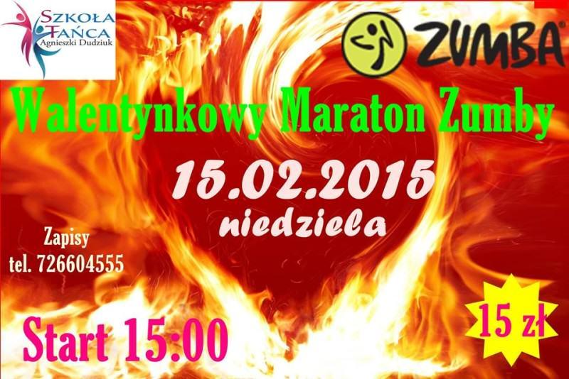 Walentynkowy maraton ZUMBY