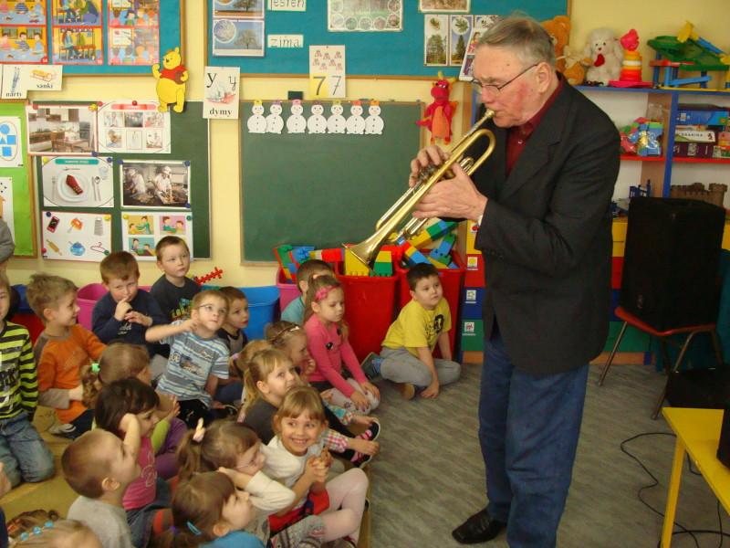 Instrumentalne spotkania przedszkolaków