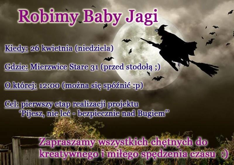 Zrób w Mierzwicach Babę Jagę
