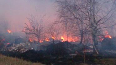 Spłonęła stodoła w Litewnikach Starych