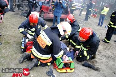 Wypadki i pożary w kronice strażackiej