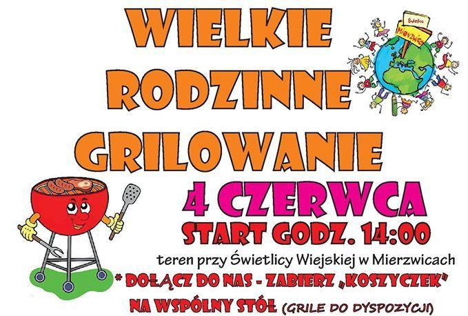 Wielkie Rodzinne Grillowanie w Mierzwicach
