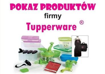 Pokaz produktów firmy Tupperware w Mierzwicach