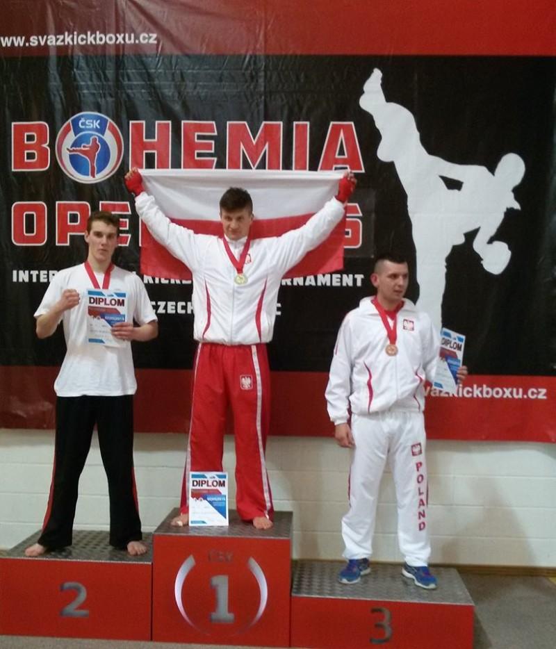 Artur Iwaniuk wywalczył złoto i srebro w Międzynarodowym Pucharze Bohemia Open w Kadaniu