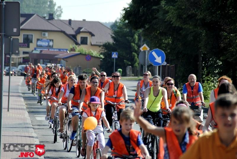 Łosice na pomarańczowo czyli biblioteczny rajd rowerowy