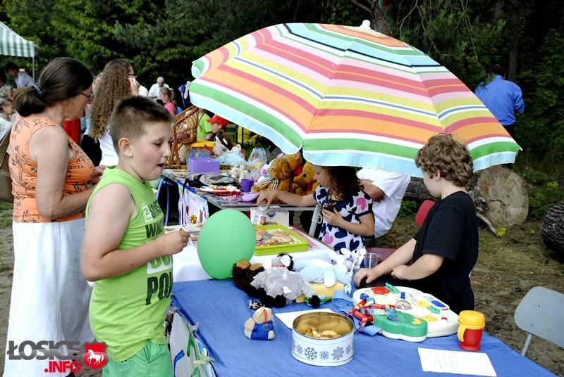 Rodzinne piknikowanie w Borsukach