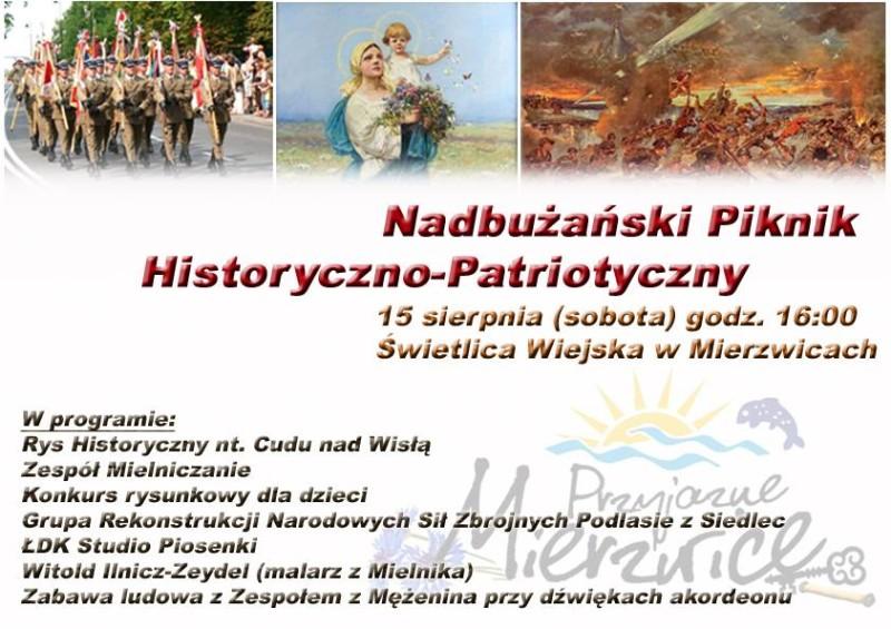 Nadbużański Piknik Historyczno-Patriotyczny w Mierzwicach