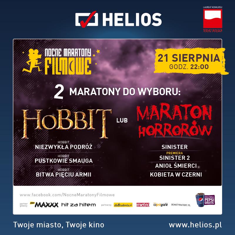 Dwa maratony filmowe i podwójna wejściówka do wygrania
