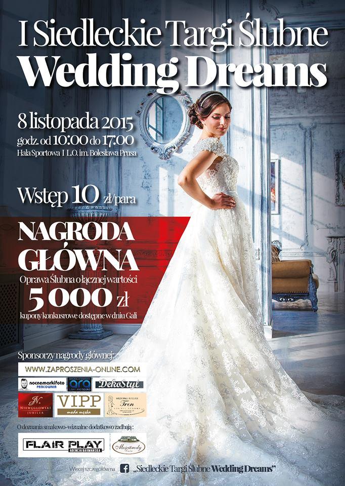 """I Siedleckie Targi Ślubne """"Wedding Dreams"""""""
