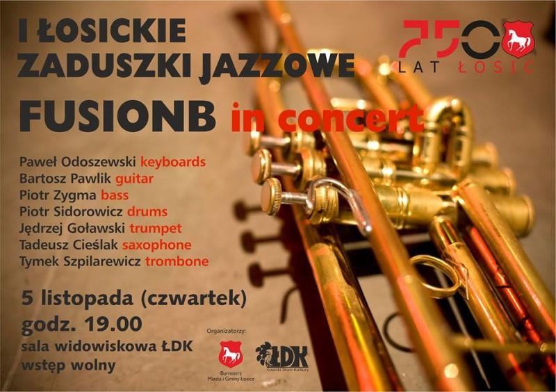 I Łosickie Zaduszki Jazzowe FUSIONB in concert
