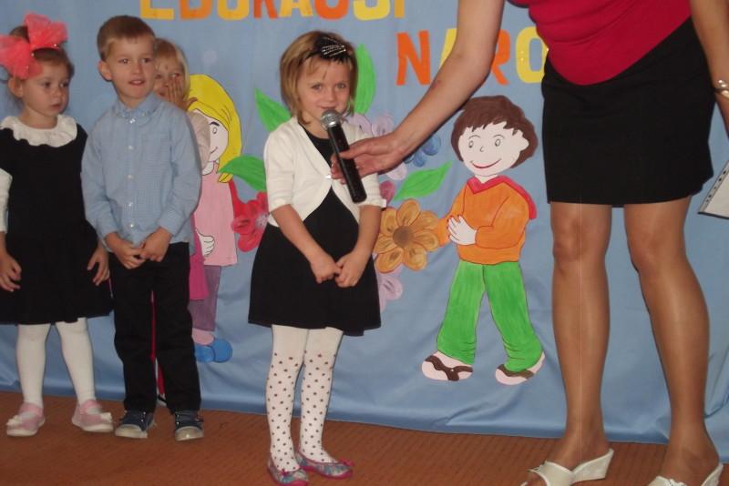 Dzień Edukacji Narodowej w Przedszkolu Samorządowym Nr 1 w Łosicach