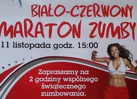 Biało – Czerwony Maraton Zumby