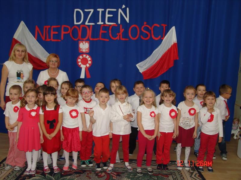 Narodowe Święto Niepodległości w Przedszkolu Samorządowym Nr 2 w Łosicach