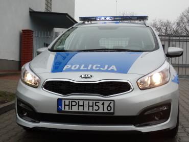 Nowy radiowóz w policji