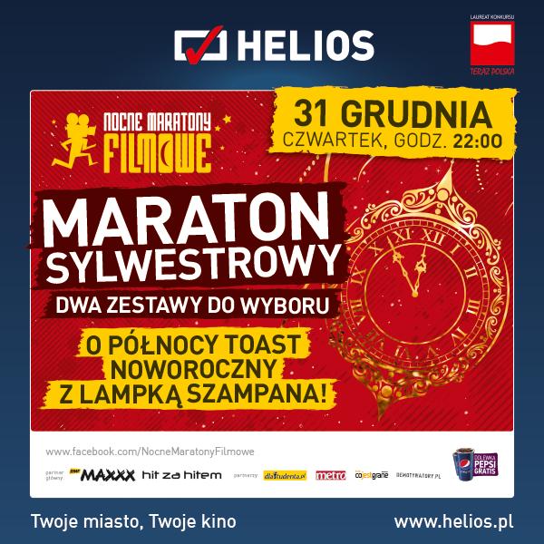 Maraton Sylwestrowy w siedleckim Heliosie