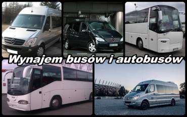 Wynajem busów i autobusów – bus lub autobus na ferie