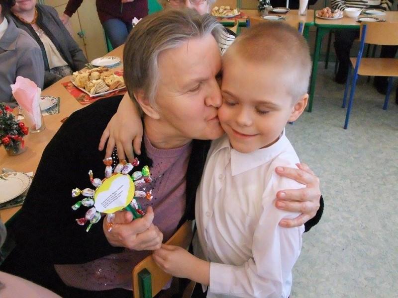 Dzień Babci i Dziadka w Szkole Podstawowej w Chotyczach