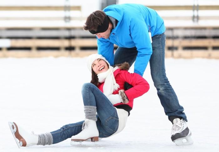 Walentynkowy Konkurs Umiejętności jazdy na łyżwach