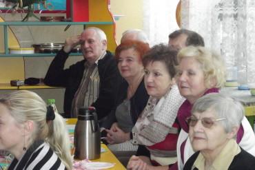 Dzień Babci i Dziadka w Przedszkolu Nr 1 w Łosicach