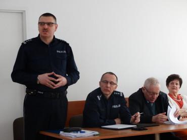 Odprawa roczna w KPP Łosice