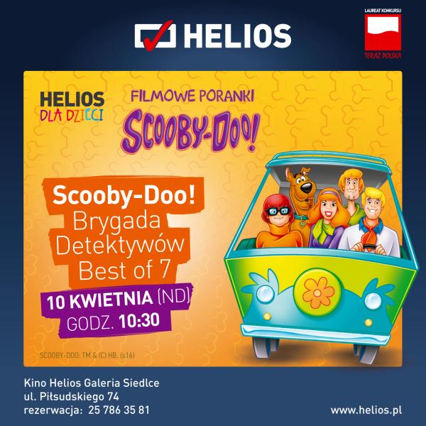Filmowy Poranek ze Scooby-Doo – wygraj bilety