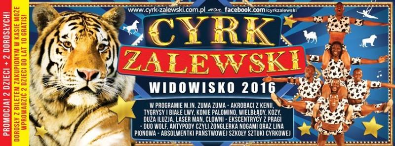 Cyrk Zalewski w Łosicach – wygraj wejściówki