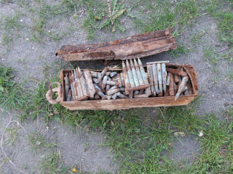 Znaleziono amunicję z czasów II wojny światowej