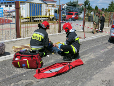 Informacja medialna na temat ćwiczeń sztabowych w Łosicach