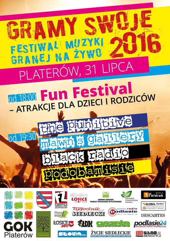 Gramy Swoje i FUN Festiwal