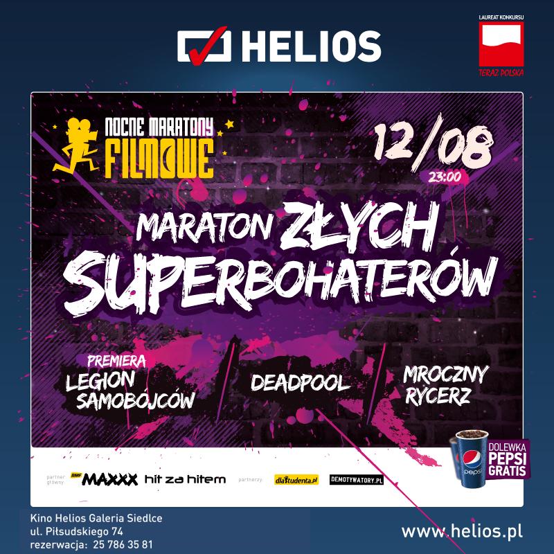 Maraton Złych Superbohaterów – wygraj wejściówki