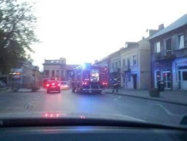 Pożar na ul. Rynek