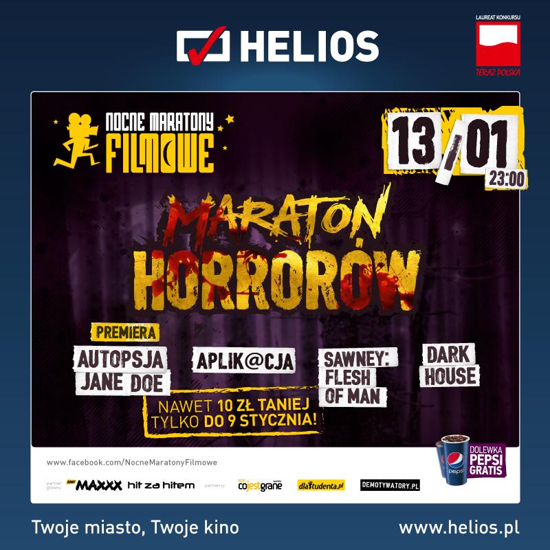 Maraton Horrorów – wygraj zaproszenie