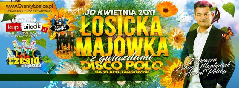 Łosicka Majówka z Gwiazdami Disco Polo coraz bliżej