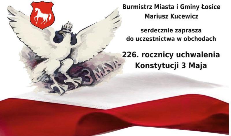 Uroczystości z okazji rocznicy Uchwalenia Konstytucji 3 Maja