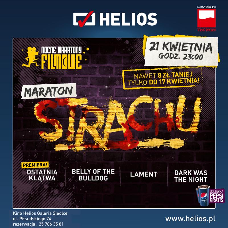Maraton Strachu – wygraj bilety