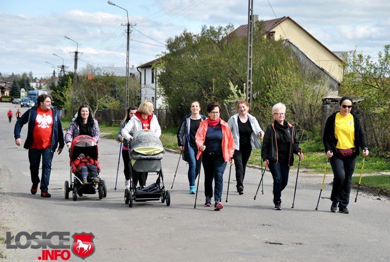 I Łosicki Bieg po Flagę oraz Rekreacyjny Marsz Nordic Walking.