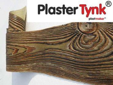 Plastmaker deko styl Premium PlasterTynk imitacja drewna