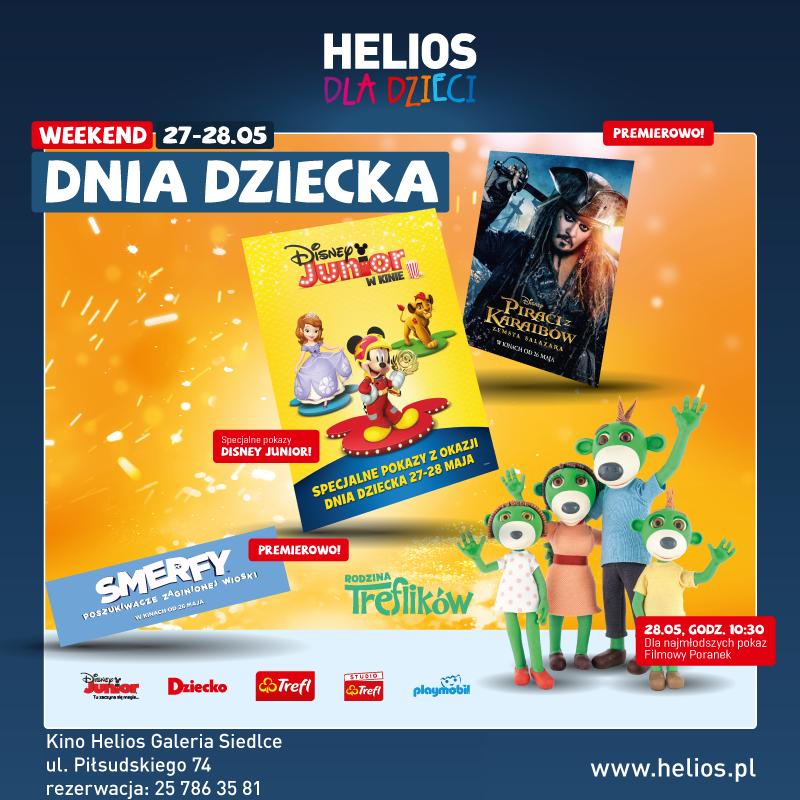 Helios dla Dzieci – wygraj bilety