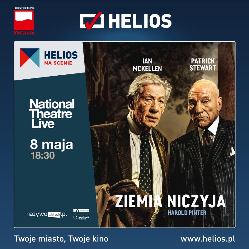 """""""Ziemia niczyja"""" z cyklu Helios na scenie w kinach Helios! – wygraj bilety"""
