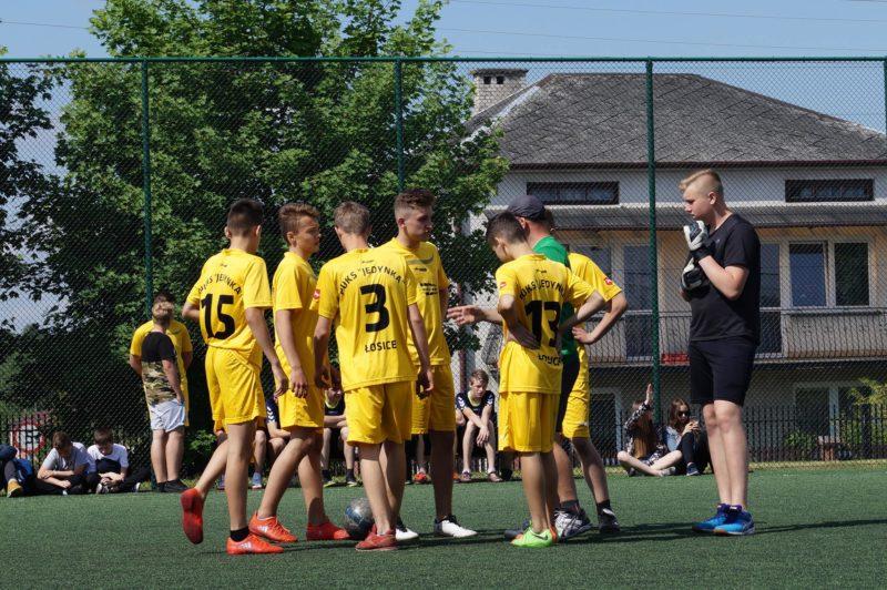 Turniej Piłki Nożnej Chłopców o Puchar Dyrektora Zespołu Szkół Nr 1 w Łosicach